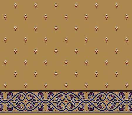 Saflı Akrilik Cami Halısı S102HARDAL