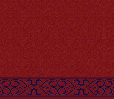 Saflı Akrilik Cami Halısı S105BORDO