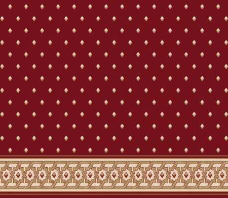Saflı Akrilik Cami Halısı S117BORDO