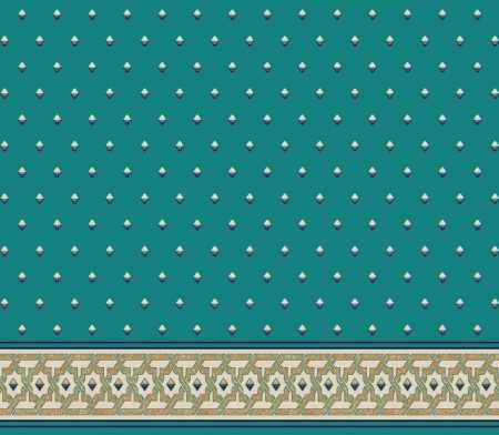 Saflı Akrilik Cami Halısı S117KOYUCINI