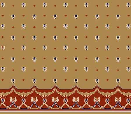 Saflı Akrilik Cami Halısı S118HARDAL