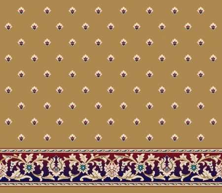 Saflı Akrilik Cami Halısı S120KOYUMAVI