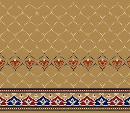 Saflı Akrilik Cami Halısı S134HARDAL