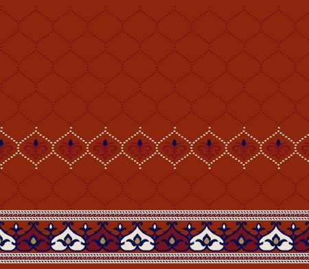 Saflı Akrilik Cami Halısı S134KIREMIT
