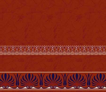Myfloor S136-Kiremit Saflı Cami Halısı