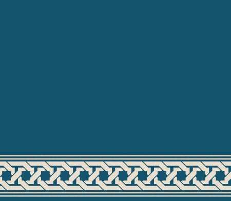 Myfloor S132-Koyu Mavi Saflı Cami Halısı