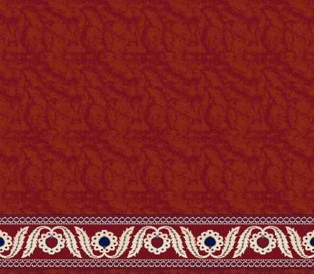 Myfloor S113-Kiremit Saflı Cami Halısı