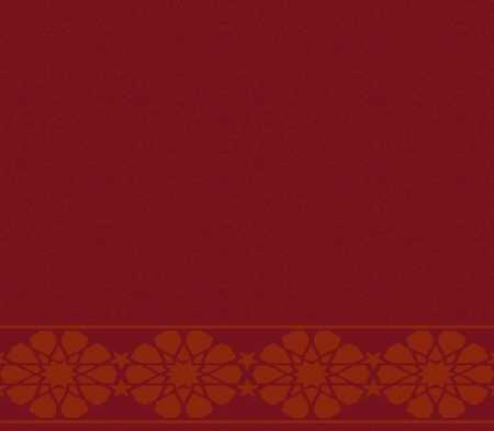 Myfloor S122-Bordo Saflı Cami Halısı
