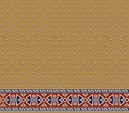 Myfloor S119-Hardal Saflı Cami Halısı