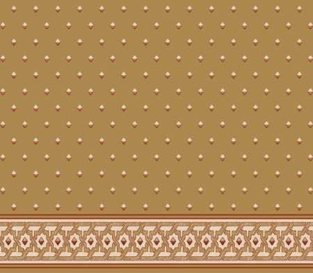Myfloor S117-Hardal Saflı Cami Halısı