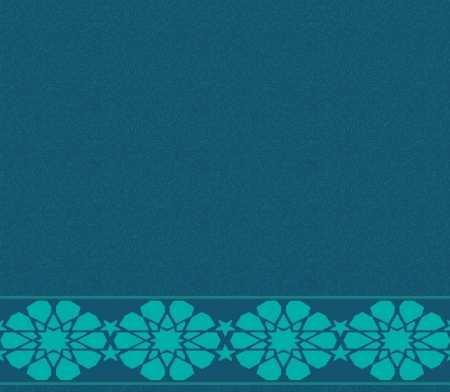 Myfloor S122-Koyu Mavi Saflı Cami Halısı