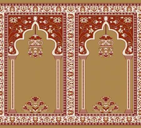 Mihraplı Akrilik Cami Halısı S142HARDAL