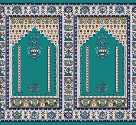 Mihraplı Akrilik Cami Halısı S143KOYUCINI