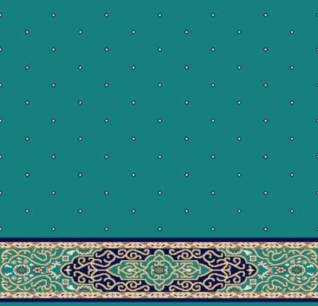 Saflı Akrilik Cami Halısı S125KOYUCINI