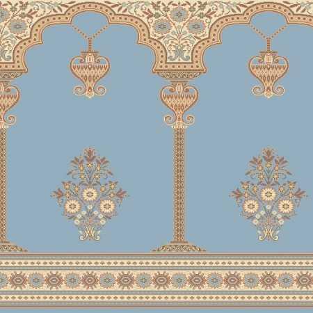 Myfloor Mihraplı Cami Halısı 1945BLUE
