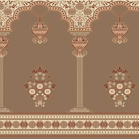 Myfloor Mihraplı Cami Halısı 1957BROWN