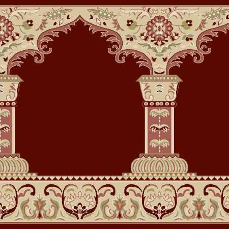 Myfloor Mihraplı Cami Halısı 1RED