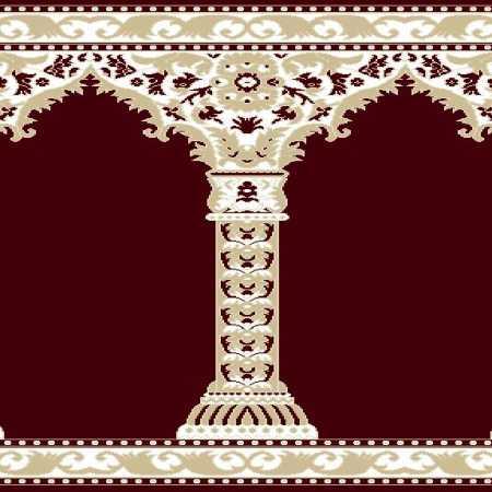 Myfloor Mihraplı Cami Halısı 4515BORDO