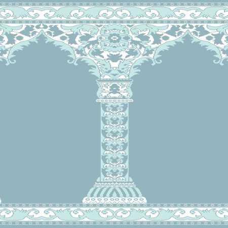Myfloor Mihraplı Cami Halısı 4515MAVİ