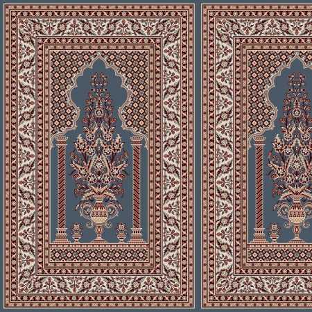 Myfloor Mihraplı Cami Halısı 5012MAVİ