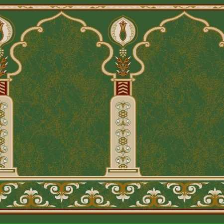 Myfloor Mihraplı Cami Halısı 5569GREEN