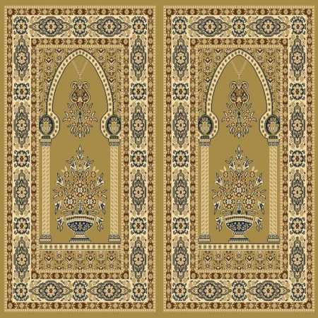 Myfloor Mihraplı Cami Halısı 6118MUSTARD