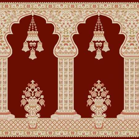 Myfloor Mihraplı Cami Halısı 6548RED