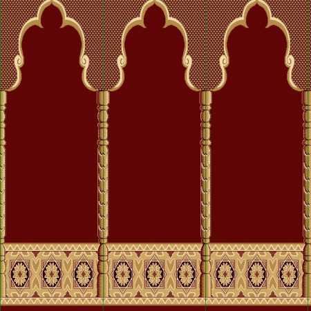 Myfloor Mihraplı Cami Halısı 6734RED