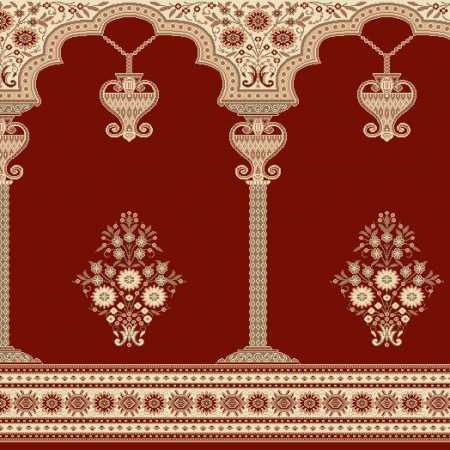 Myfloor Mihraplı Cami Halısı 7929RED