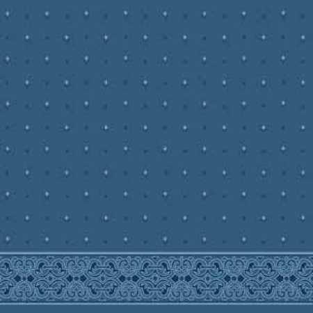 Çelebizade Gelincik Saflı Cami Halısı Antik Mavi