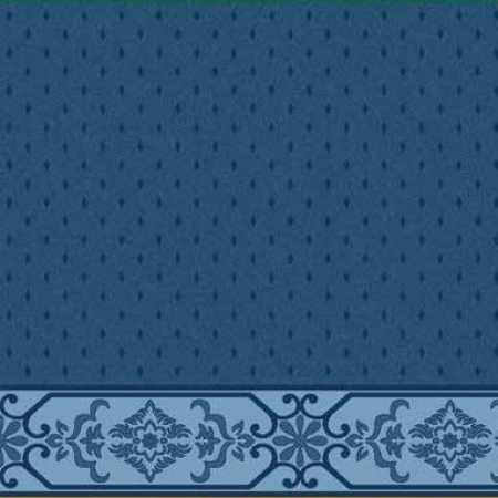 Çelebizade Molla Saflı Cami Halısı Antik Mavi