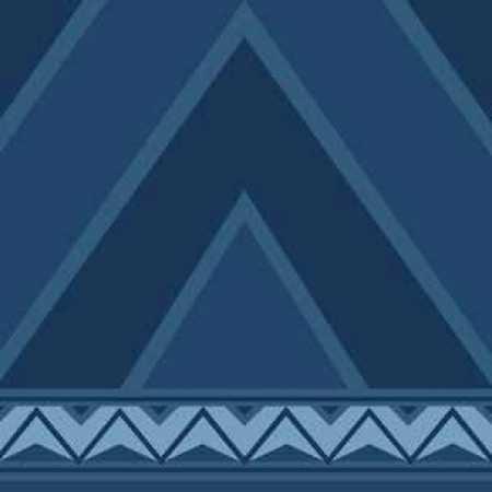Çelebizade Nergis Saflı Cami Halısı Antik Mavi