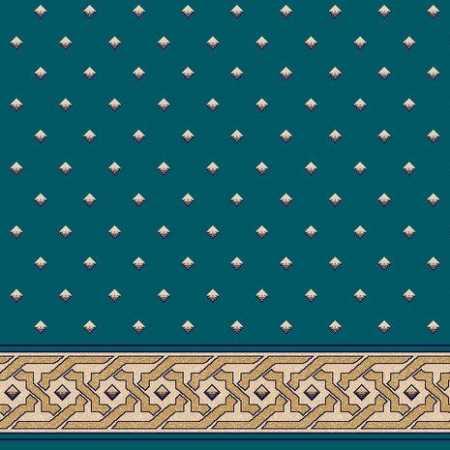 C021A P.Mavi Saflı Cami Halısı