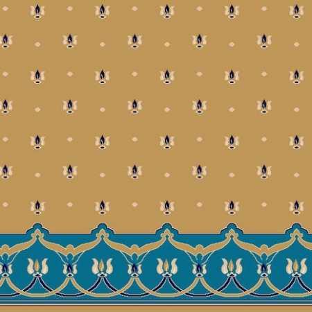 C045A Hardal Saflı Cami Halısı