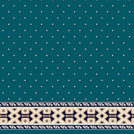 C051A P.Mavi Saflı Cami Halısı