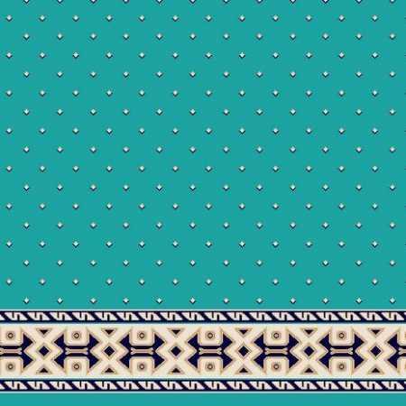C051A Z.Mavi Saflı Cami Halısı