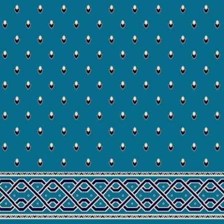 C053A K.Mavi Saflı Cami Halısı