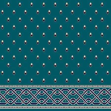 C053A P.Mavi Saflı Cami Halısı