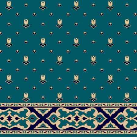 C083A P.Mavi Saflı Cami Halısı