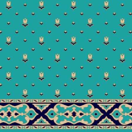 C083A Z.Mavi Saflı Cami Halısı