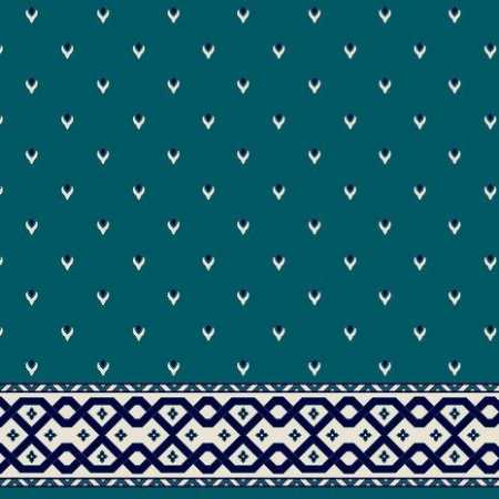 C085A P.Mavi Saflı Cami Halısı