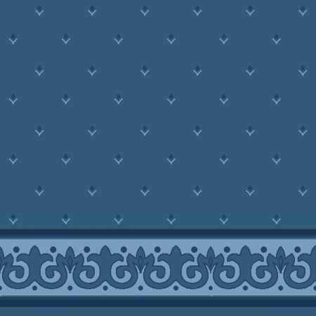 Çelebizade Erguvan Saflı Cami Halısı Antik Mavi