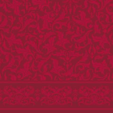 Çelebizae Fulya Saflı Cami Halısı Kırmızı