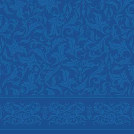 Çelebizade Fulya Saflı Cami Halısı Mavi