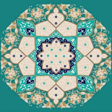 Göbekli Akrilik Cami Halısı G115CINI