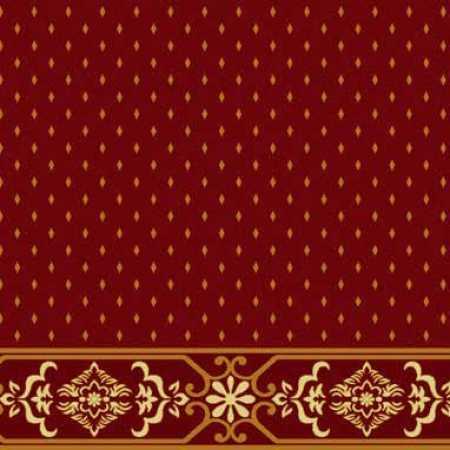 Çelebizade Molla Saflı Cami Halısı Kırmızı