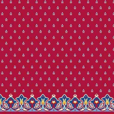 Çelebizade Pitan Saflı Cami Halısı Kırmızı