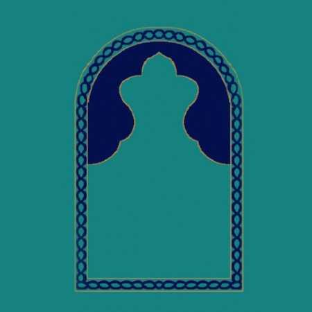 Mihraplı Akrilik Cami Halısı M101KOYUCINI