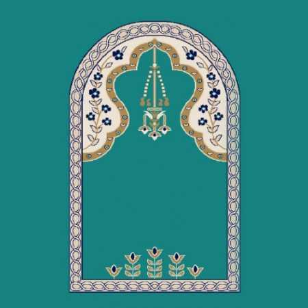 Mihraplı Akrilik Cami Halısı M102KOYUCINI