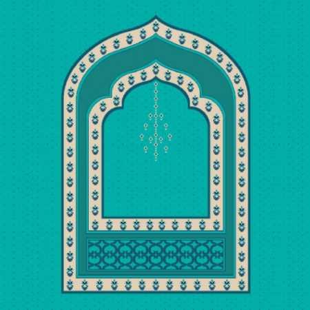 Mihraplı Akrilik Cami Halısı M103ACIKCINI